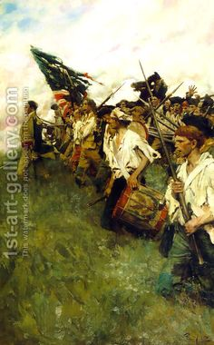 The Nation Makers by Howard Pyle