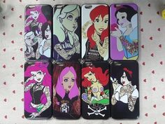 Sexy Girl Tattoo Ariel Alice Snow White Marilyn Monroe Protective Hard Cover Case For iPhone 6 4.7 inch Phone case iPhone Covers Online Price: $ 5.49