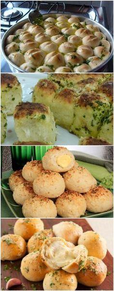 Mini Pãozinho de Alho Recheado | Uma receita fácil e que vai fazer você apaixonar! #pãodealho #minipãodealho #comida #culinaria #gastromina #receita #receitas #receitafacil #chef #receitasfaceis #receitasrapidas