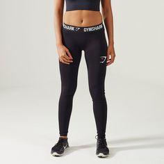 Gymshark Form Running Tights - White