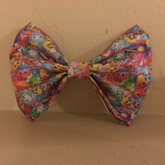 Shopkins hair bow