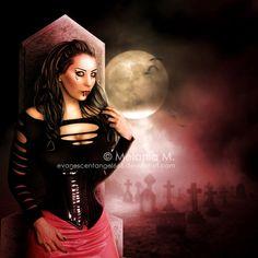She Vampire by EvanescentAngel666.deviantart.com on @deviantART