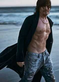 Oh my!!! Norman  looking sexier than ever
