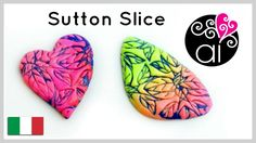 Sutton Slice Cabochon | Polymer Clay Tutorial | Lisa Pavelka Textures