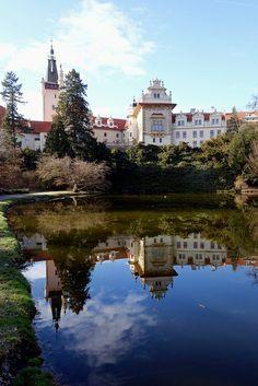 Pruhonice Zamek,  Czech Republic