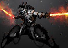 ArtStation - Speedpaint Fiery Sword, Benedick Bana