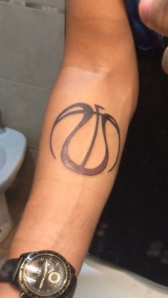 Basketball tattoo #Basketball #Tattoo #Ink
