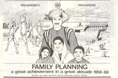 Advertisement by the West Pakistan Family Planning Board