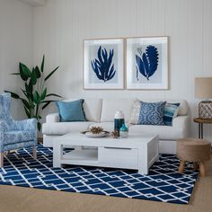 Stunning blue hues c