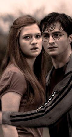 Gina Harry Potter, Harry Potter Ginny Weasley, Harry And Hermione, Mundo Harry Potter, Harry Potter Tumblr, Harry Potter Pictures, Harry Potter Characters, Harry Potter World, Desenhos Harry Potter