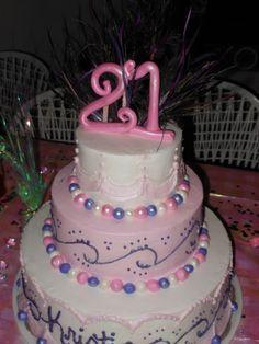 my beautiful 21st birthday cake! :)