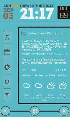 android home画面 おしゃれ - Google 検索