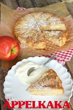 Segmjuk äppelkaka