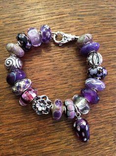 I'm a sucker for purple #trollbeads~ ;)