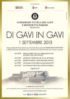 "Mancano SOLO 26 giorni a ""DI GAVI IN GAVI""... ONLY 26 days to ""DI GAVI IN GAVI""..."