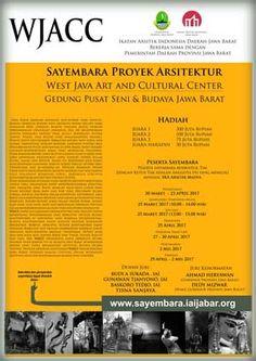 Sayembara Proyek Gedung Pusat Seni dan Budaya Jawa Barat 2017 Berhadiah Total 505 Juta Rupiah  DEADLINE: 25 April 2017  http://infosayembara.com/info-lomba.php?judul=sayembara-proyek-gedung-pusat-seni-dan-budaya-jawa-barat-2017-berhadiah-total-505-juta-rupiah