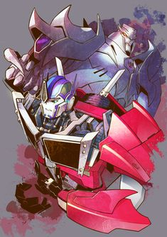 TFP Optimus and Megatron by ai-eye on DeviantArt