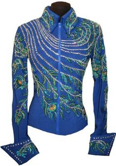 SHOWTIME PEACOCK JACKET AND PANT SET