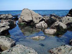 Rockpools at Lundy Bay, Cornwall
