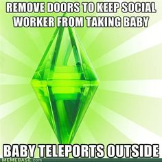 yep. after I found out that could happen, I just started killing the social workers in sims 2. then it would say that there was an error. DO NOT PUSH RESET. cause then another social worker appears.