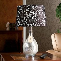 Royce 1-light Mercury Glass Table Lamp | Overstock.com
