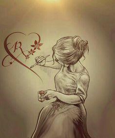 Love Drawings, Art Drawings, Sketches Of People, Art Sketches, Broken Drawings, Valo Ville, Emotional Drawings, Human Sketch, Painting Art