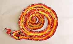 Aboriginal Dot Painting For Kids | Kids Activities | Indoor Activities | twirly snake
