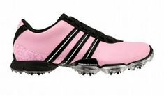 must have pink golf shoes!!