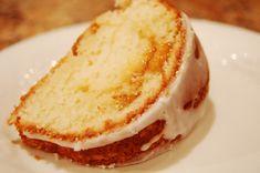 apricot pound cake slice