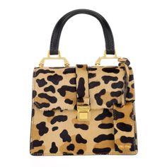 Designerbag by Miu Miu: Bandoliera Madras Miele/Nero on Trend Rio. Fashionette.com