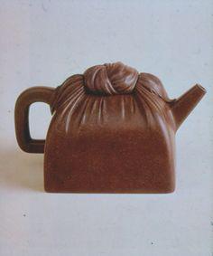 magdahelsinki:I Xing teapot, Shi Dabin mark. Qing dynasty (late 16th c.)