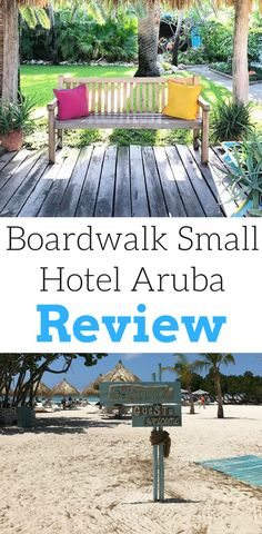 There are so many hotel options in Aruba, but the Boardwalk Small Hotel Aruba was my favorite. I loved this quiet and relaxing hotel with beach access. This hotel was both luxurious and eco friendly making it a great hotel option. See what I loved so much about this hotel and what to expect while you're there. Make sure you save this to your travel board.