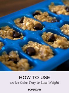 Your ice cube tray can help you do much more than you may think. Use these clever tricks for things like portion control to help you lose weight and feel better.  Rapid weight loss! The new method in 2016! Absolutely safe and easy! #healthydiet #weightlosemotivation #weightlosesmoothies #weightlosemealplan