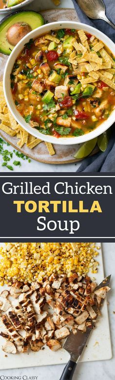 Grilled Chicken Tortilla Soup - Cooking Classy (Mexican Chicken Drumsticks)