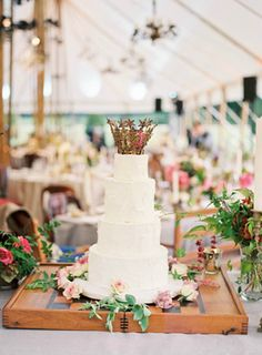 Homespun Wedding Cake by Beth Helmstetter