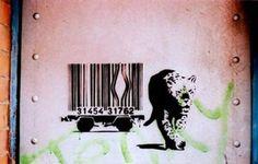 世界のバーコードアート | 148cm  Barcode Art