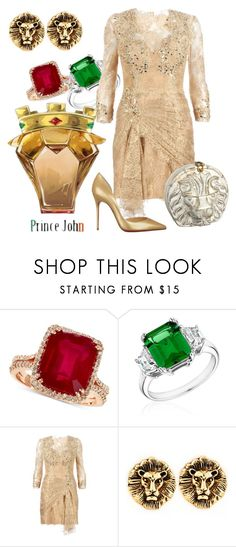 """Prince John"" by amarie104 ❤ liked on Polyvore featuring Effy Jewelry, Reeds Jewelers, Disney, Zuhair Murad, Christian Louboutin and Timmy Woods"