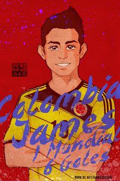 Legends - FIFA World Cup Brasil 2014 by Juan Hodgson, via Behance