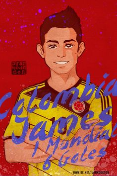 Legends - FIFA World Cup Brasil 2014 by Juan Hodgson, via Behance