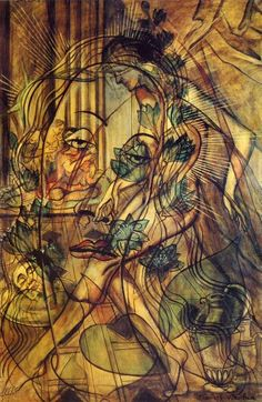 Salome - Francis Picabia art-to-remember Tristan Tzara, Man Ray, Marcel Duchamp, Action Painting, Figure Painting, Francis Picabia, Magritte, Art Database, Art Moderne