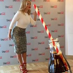 "40.1k Likes, 288 Comments - Holly Willoughby (@hollywilloughby) on Instagram: ""Too much fun with @DietCokeGB tonight… thank you for a lovely launch #ItStartedWithADietCoke #ad"""
