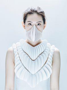 Jun Kamei's Amphibious Garment Allows Humans To Breath Underwater