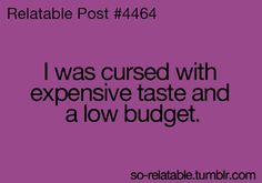 the problems of being a shopaholic :/