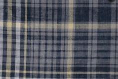 Shirting EscocesAzul, Blanco, Amarillo100% AlgodónCamisero Medio