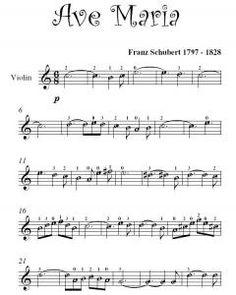 Ave Maria Violin Sheet music