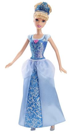 This is a great deal for Christmas or birthday gifts! Get them and have them on hand for your child's next friend's birthday party! Disney Princess Sparkle Princess Cinderella Doll
