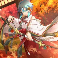 Twitter Kawaii Anime Girl, Anime Art Girl, Shino Sao, Anime Sword, Sinon Ggo, Asuna, Sword Art Online Wallpaper, Accel World, Sword Art Online Kirito