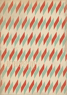 Something about simple retro patterns that always stick