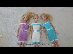 Платье с воротничком для куклы крючком. Обсуждение на LiveInternet - Российский Сервис Онлайн-Дневников