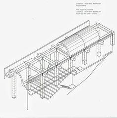 mcarchitetture: Matsumoto House - Tadao Ando | Rappresentazioni